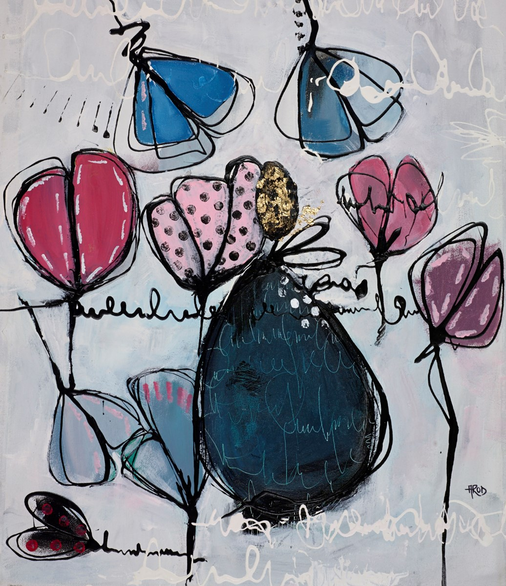 Des Souvenirs Plein la Tete by annie rodrigue -  sized 15x19 inches. Available from Whitewall Galleries